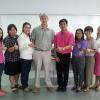 คณะวิทยาการจัดโครงการอบรมภาษาอังกฤษเพื่อการสอน สนทนาภาษาอังกฤษ  วันที่ 11 พฤษภาคม - 10 มิถุนายน 2558